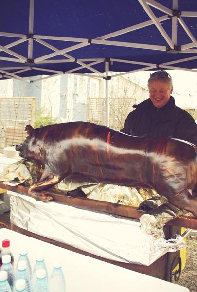 Kjell och grisen